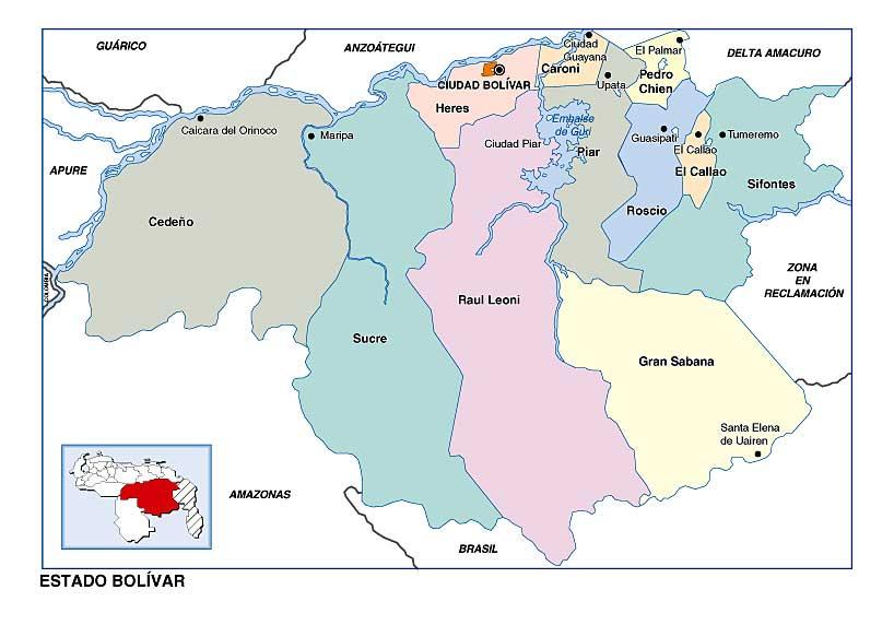 Venezuela en Mapas  TUSMETROSCOM